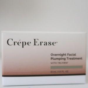 Crepe Erase Overnight Facial Plumping Treatment